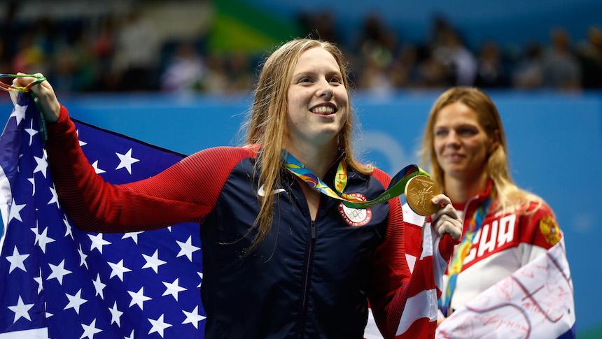 La dulce venganza de la nadadora rusa Efímova contra sus rivales