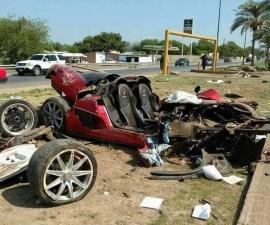 Koenigsegg choque presidencia