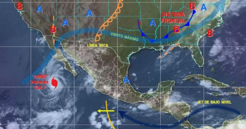 Paine evolucionó a la categoría de huracán
