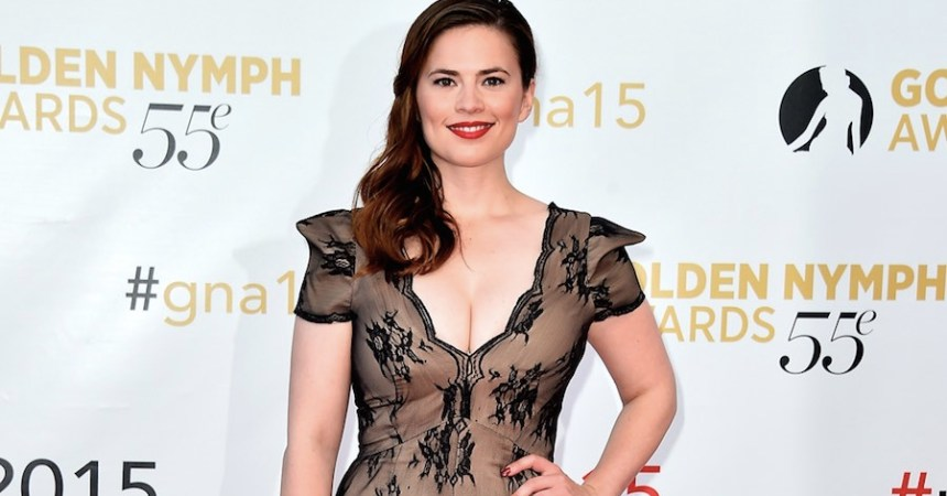 Actriz Hayley Atwell