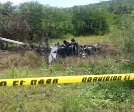 El helicóptero de la Policía de Michoacán no fue derribado, se estrelló al evadir disparos