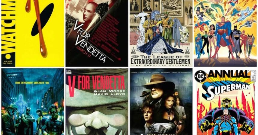 Alan Moore - Los mejores cómics