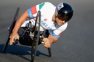 Alex Zanardi en el ciclismo de ruta.