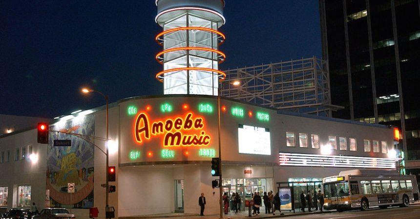 Amoeba, la mítica tienda de discos de Los Angeles, podría desaparecer.
