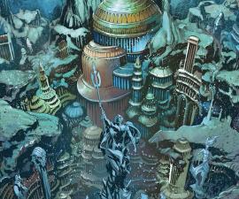 Atlántida - Aquaman DC