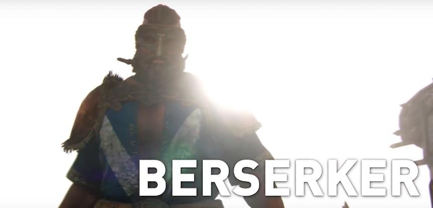 Berserker For Honor