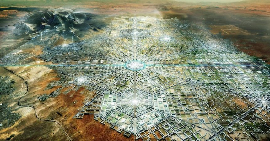 Fernando Romero, arquitecto mexicano, propone una ciudad utópica entre la frontera entre México y Estados Unidos llamada Border City