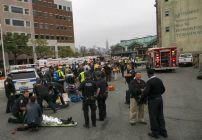 Accidente de tren deja docenas de heridos en Nueva Jersey