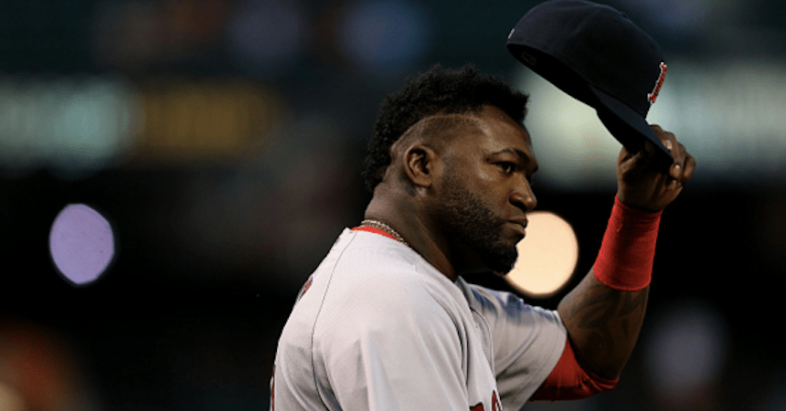 David Ortiz, jugador de los Boston Red Sox