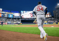 David Ortiz en el Yankee Stadium