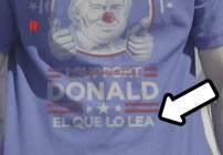 Camisas Donald Trump 2