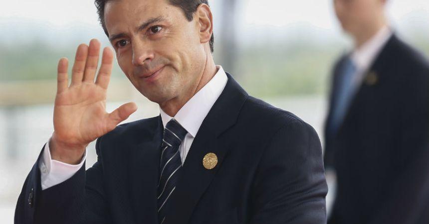 Enrique Peña Nieto recibe galardón por 'buen estadista'