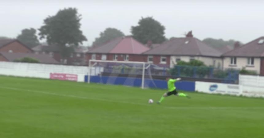 Portero anota un gol de más de 70 metros en las clasificaciones para la FA Cup