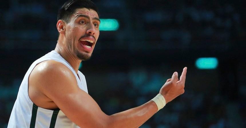El basquetbolista mexicano conoció a uno de sus ídolos deportivos.