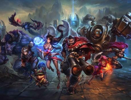 League of Legends - Capmeones