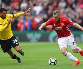 Luke Shaw fue señalado por Mourinho como el culpable de la derrota