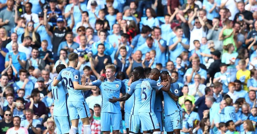 El Manchester City se mantiene perfecto en la Premier