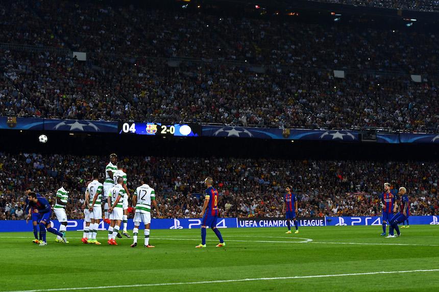 Neymar consiguió el tercer gol del partido