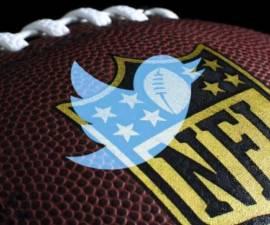 Logo de Twitter en la NFL