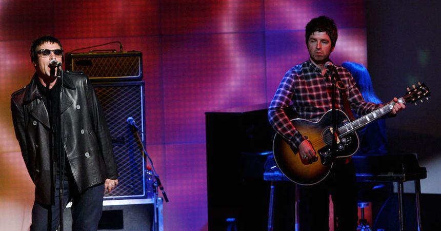 Oasis puso en descarga gratuita una de sus canciones.
