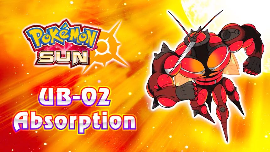 UB-02 Absorption Pokémon Sun