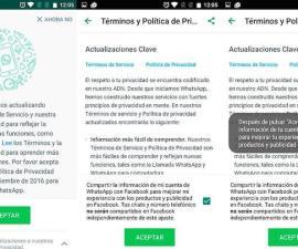 WhatsApp Términos y Condiciones