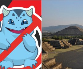 """Usuarios de internet exigen al director de Nintendo """"zonas libres de Pokémon"""", entre ellas Teotihuacán"""