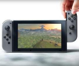 Switch la nueva consola de Nintendo