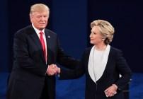 Hillary Clinton - Donald Trump - Debate.