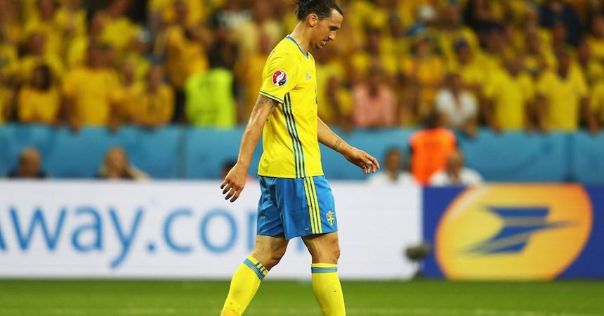 Zlatan Ibrahimovic siempre fue determinante en sus equipos, pero no con la selección