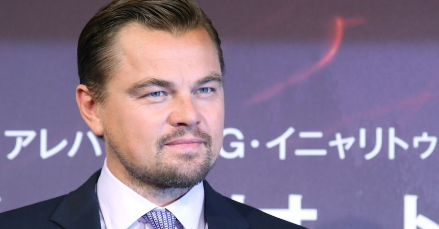 Actor y productor Leonardo DiCaprio