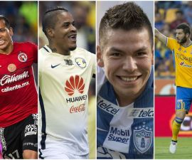 Liga MX collage
