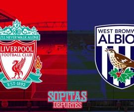 Liverpool quiere seguir en los puestos altos contra el West Bromwich