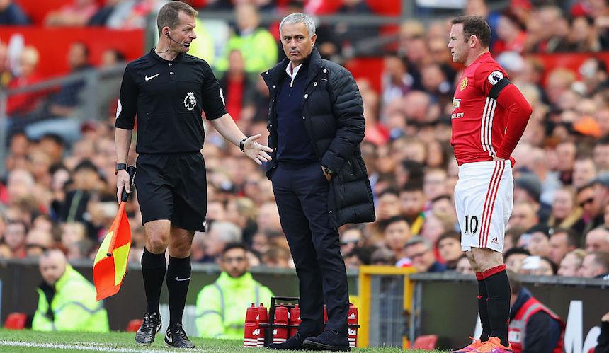 Mourinho y Rooney no llevan una buena relación
