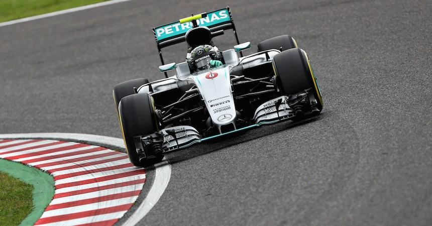 Nico Rosberg finalizó en el primer lugar de la clasificación