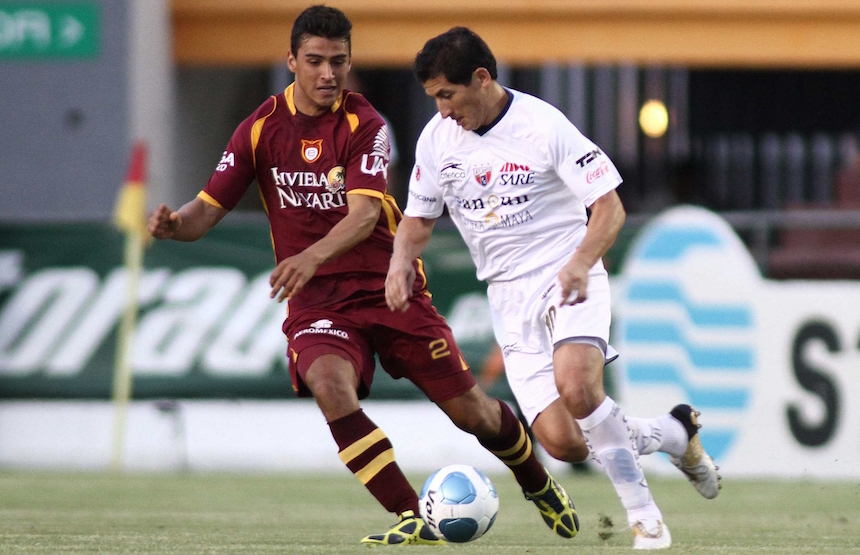 Oswaldo Alanís en su época con Tecos