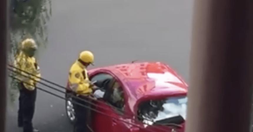 Con las manos en la masa: graban a policías de tránsito en plena mordida