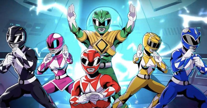 Power Rangers: Mega Battle Portada
