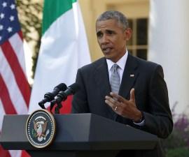 El presidente de Estados Unidos, Barack Obama, le pidió al candidato del Partido Republicano, Donald Trump, que deje de chillar