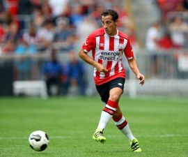 PSV Eindhoven Andrés Guardado