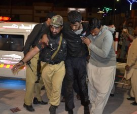 Atentado en Pakistan deja 60 muertos