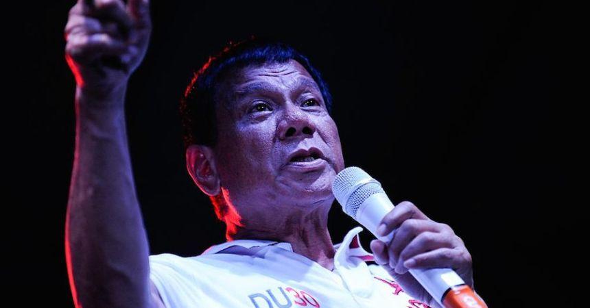 El presidente de Filipinas anunció su separación de Estados Unidos