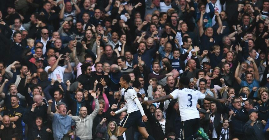 El Tottenham Hotspur terminó con el invicto del Manchester City
