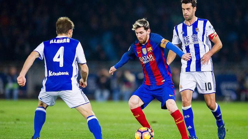 Barcelona contra Real Sociedad