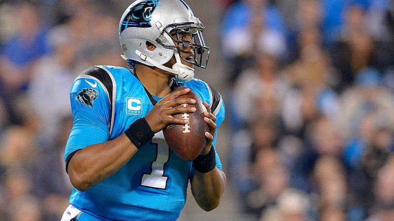 Cam Newton con Panthers