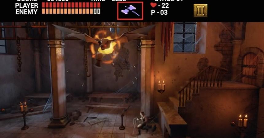 Castlevania Unreal Engine