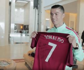 Cristiano Ronaldo ha demostrado su apoyo a Edu Ferreira