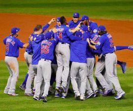 Cubs celebran en bola