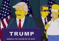 Donald Trump es Presidente en los Simpsons