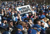 Fans Chicago Cubs